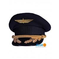 Фуражка пилота гражданской авиации (ГА) классическая Куртаж™