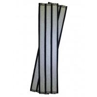 Галун нарукавный 3 полосы серебряные Куртаж™