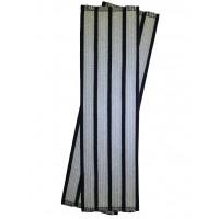 Галун нарукавный 4 полосы серебряные Куртаж™