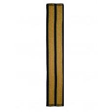 Галун нарукавный 2 полосы золотые Куртаж™