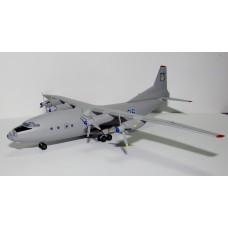 Модель самолёта АН-12 ВВС Украины