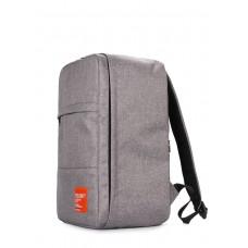 Рюкзак для ручной клади HUB, серый