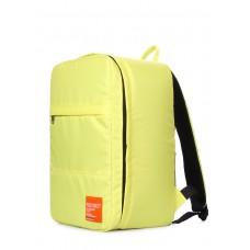 Рюкзак для ручной клади HUB, лимонный