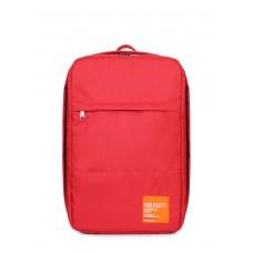 Рюкзак для ручной клади HUB, красный