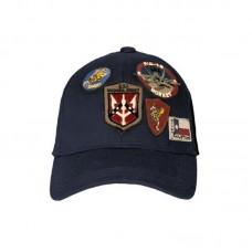 Кепка Top Gun Cap With Patches, цвет: тёмно-синий
