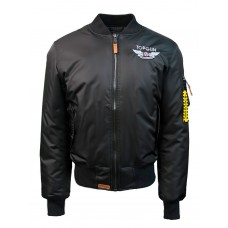"Куртка-бомбер Top Gun™ Official MA-1 ""WINGS"" bomber jacket with patches, black"