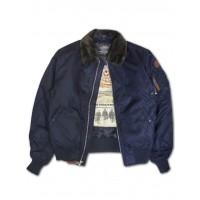 Куртка-бомбер Top Gun™ B-15 Men's Heavy Duty Vintage, синяя