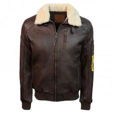 Куртка бомбер Top Gun™ Men's Bomber With Removable Fur TG1911, brown