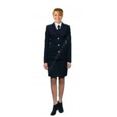 Костюм форменный гражданской авиации женский (китель и юбка) Куртаж™
