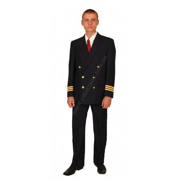 Костюм форменный гражданской авиации мужской (китель и брюки) Куртаж™