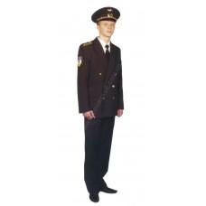 Костюм форменный курсантский гражданской авиации мужской (китель и брюки) Куртаж™